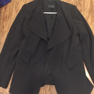 Anthropologie black blazer size medium